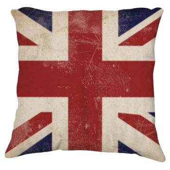 Union Jack Pillow by coppice