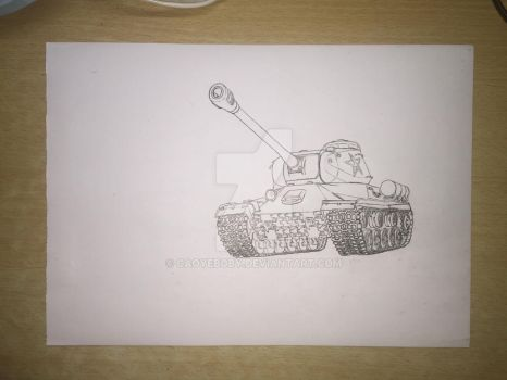 Chinese IS-2M by caoyeboby