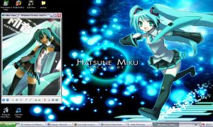 Miku Desktop by Grey-Knight