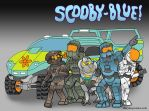 Scooby-Blue by DairyBoyComics