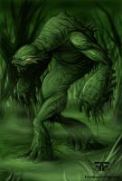 Swamp Monster by jameskoenig1