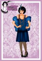 Disney Flapper - Jasmine by HelleeTitch