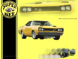 1969 Dodge Super Bee by orishaz