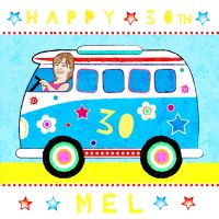 VW Camper Van 30th Birthday by pickledjo