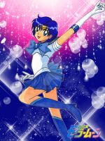 I am Sailor Mercury! by YuniNaoki