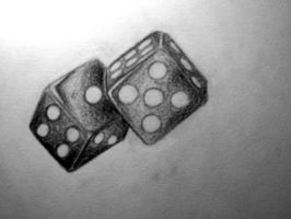 Dice for My tiger by accomplicefarrell