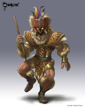 Tribal Warrior by raoxcrew