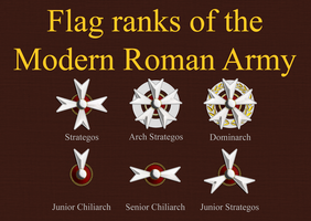 Roman Generals Ranks by 1Wyrmshadow1