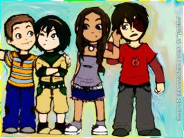 The Gang -chibi style- by Terrami