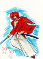 Kenshin for color test. by Penzoom