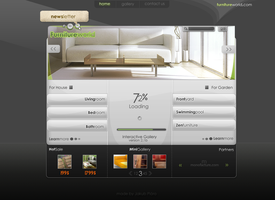 Furniture World Website by webgraphix