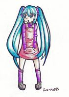 Little Miku OwO by Just-Me143