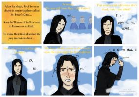 Snape's last judgement by Severus-Snape-Club