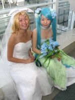 The Bride and Her Bridesmaid by pri-cos