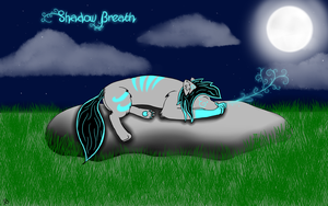 Shadow Breath asleep by ShadowBreath