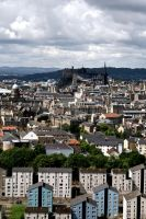 Edinburgh Cityscape by HyperCaz
