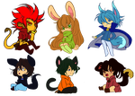 Munto Chibis by Willow-Pendragon