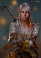 Ciri by Ron-faure