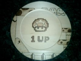 A Heaping Plate of 1UPs by caffiend