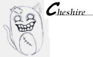 Cheshire the Undead Cat by FaytHart