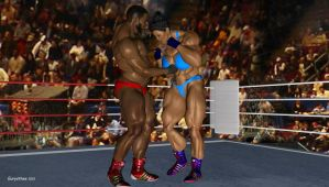 Sanya, mixed wrestling match 27 by eurysthee