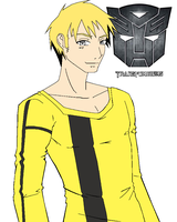 BumbleBee-Human Form Colored by T1p2
