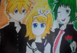 Love Triangle :D (First love academy) by backspaceGirl31
