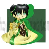 Avatar Toddlers: Toph by Kaede-chama