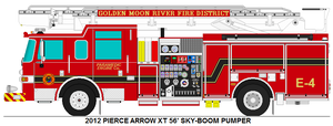Golden Moon River Fire Dist. Engine 4 by MisterPSYCHOPATH3001