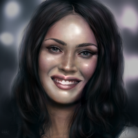Megan Fox Portrait by devotion-graphics