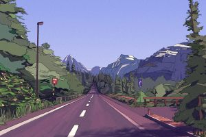 Road to nowhere by Vezarez