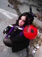 Evil Vanellope cosplay by Kharen94th