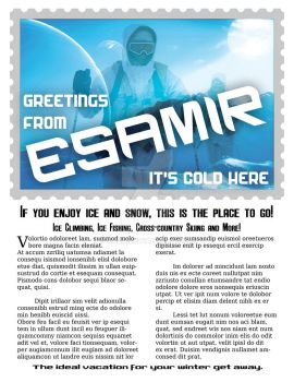 PS2 - Esamir Vacation Flyer 001 by Xoza