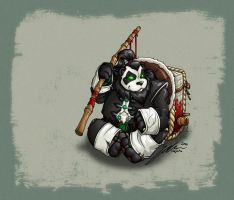 Pandaren by Noxychu