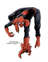 The Superior Spider-Man Colors by lukesparrow