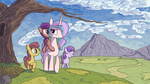 A Day With The Princess by Inkygarden