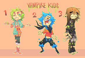 Vampire Kids set (closed) by HJeojeo