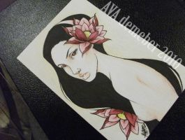 Black Lotus - Finished by Electricalivia