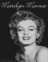 Marilyn Monroe Vector by justin33k