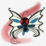 Mega Butterfree by XavierAnimator
