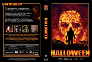Halloween DVD Cover by RyuuketsuEG