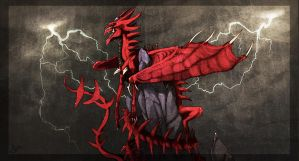 Slifer the Sky Dragon by ApeironDiesirae