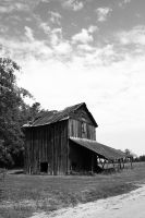 Tobacco Barn by celticsun1