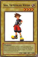 Sora, The Keyblade Wielder card by A5L