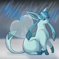 Shiver of my Love - Glaceon by Sparkleworks