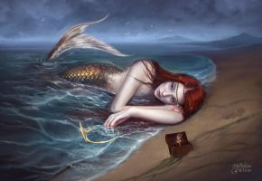 Mermaid's Tear by maril1