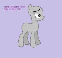 Pony is not amused (BASE) by Tornblackribbons