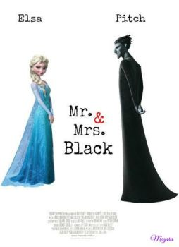 Mr. and Mrs. Black by MegaraRider