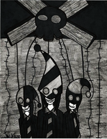 Marionette Trio by LoneWolf1600