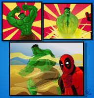 Kicking Hulk's Aaaa - Page01 by YulayDevlet